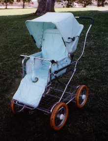 Photo of Emmaljunga stroller.