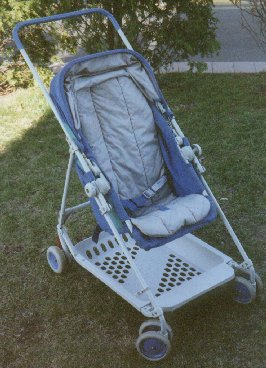 Photo of Gerry K-Tech as a stroller.