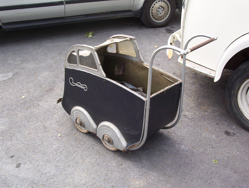 Photo of a Torck Baby Carriage