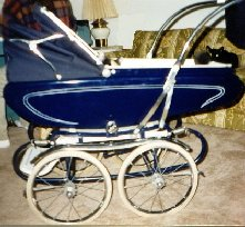 Photo of a Pedigree Carriage-Stroller combination.